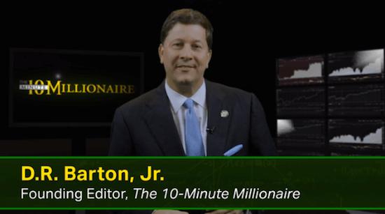 DR Barton Jnr 10 Minute Millionaire Founding Editor