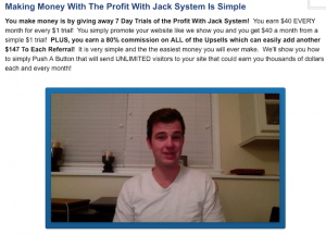 Profit With Jack Scam Actor