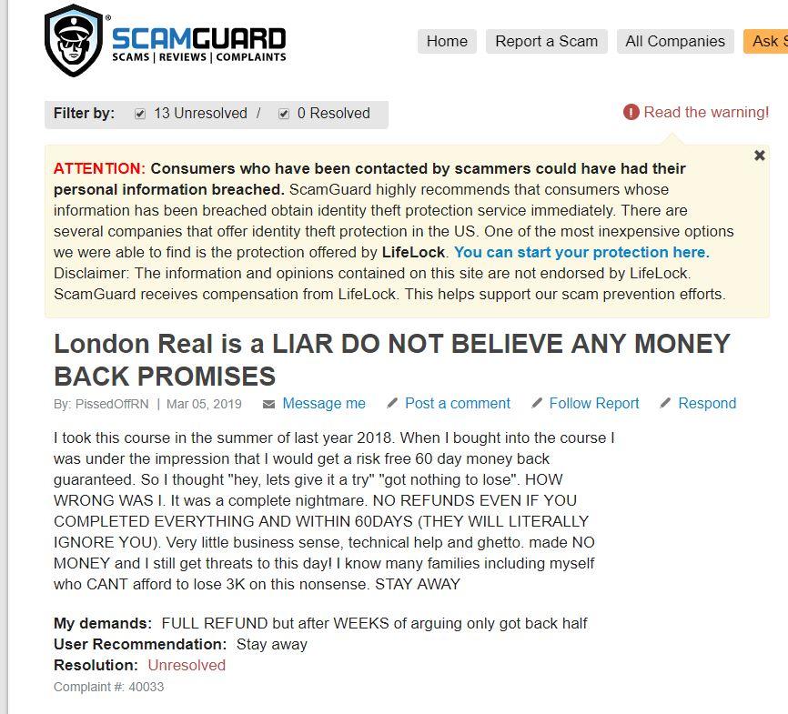 Affiliate Marketing Scam Guard Brian Rose