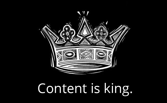 How long will it take to make money online Content Is King
