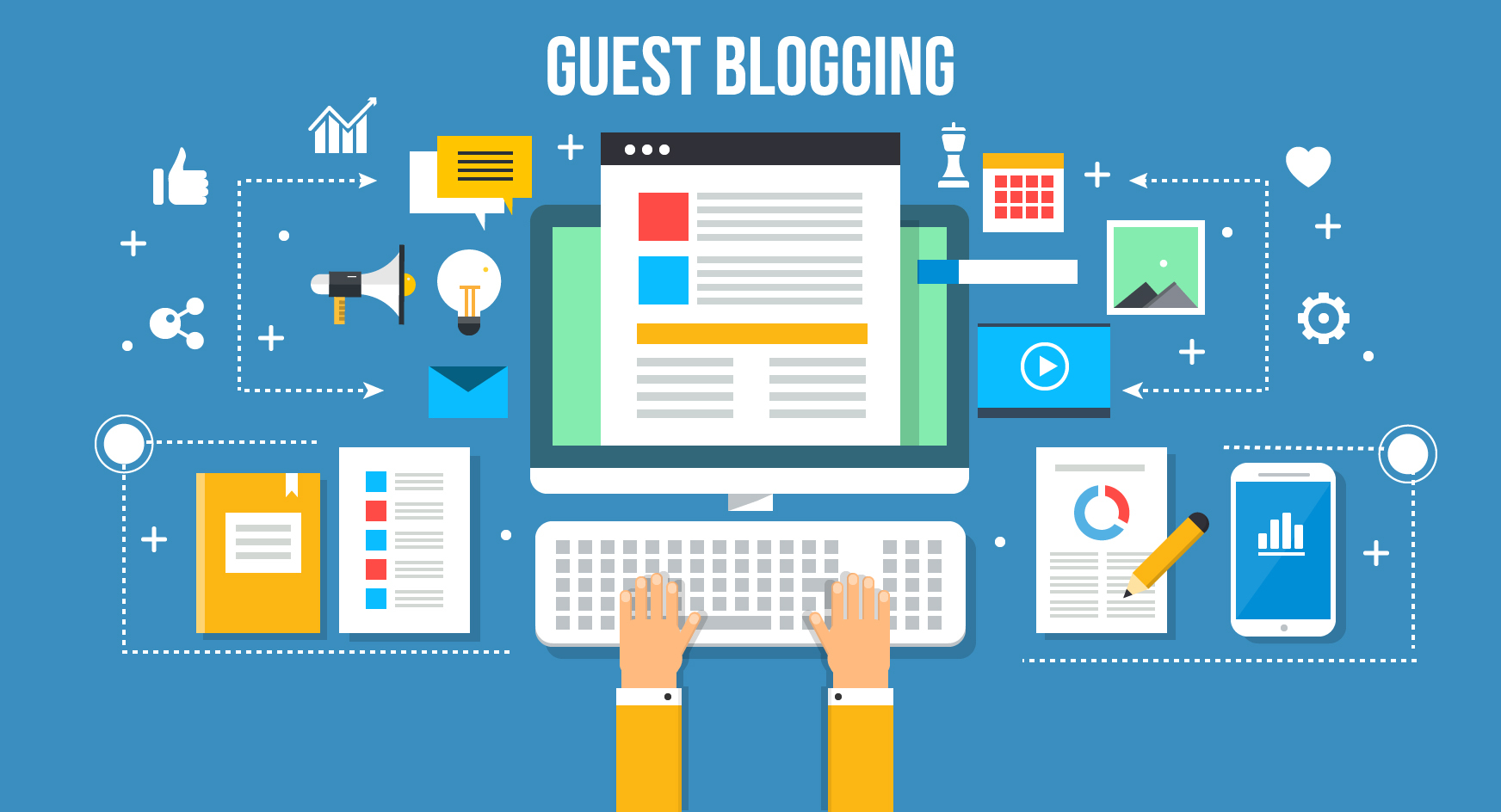 Make Money With Affiliate Marketing and Blogging - Guest Blogging