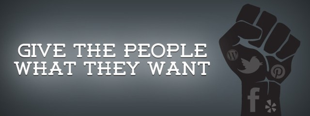 Affiliate Marketing Give The People What They Want