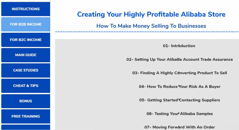 Affiliate Marketing Aliprofits System Training Resources