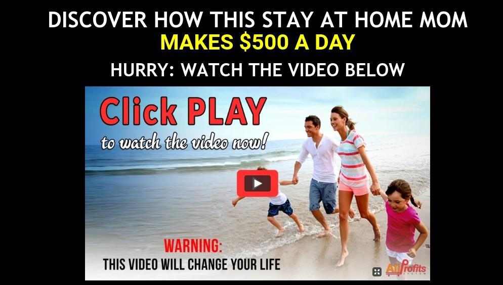 Affiliate Marketing Aliprofits System Website Marketing Video