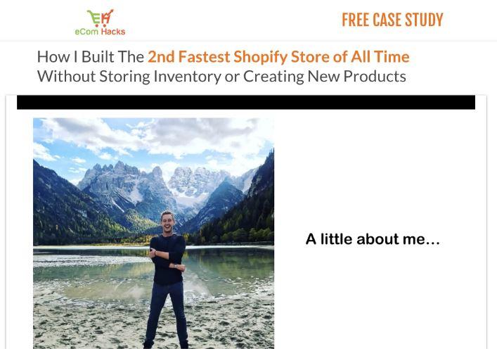 Affiliate Marketing eCom Hacks Academy Website