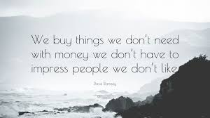 FInancial Freedom Quote for Overspending