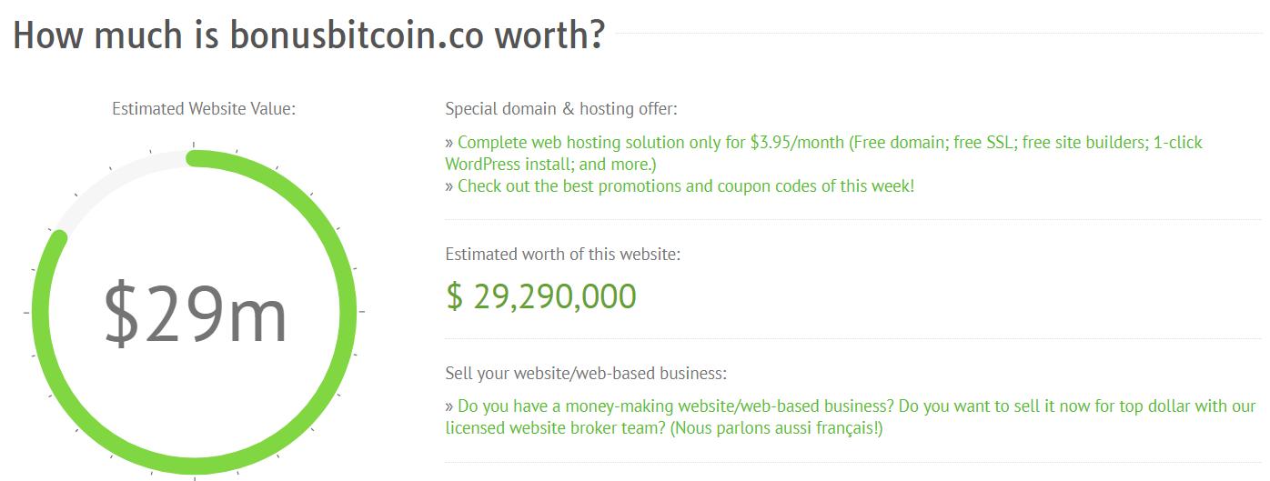 Make Money Online Bonus Bitcoin Projected Revenue