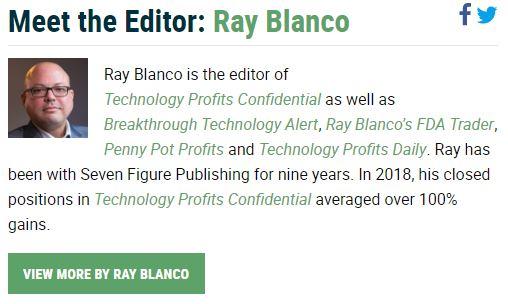 Make Money Online Technology Profits Confidential Ray Blanco