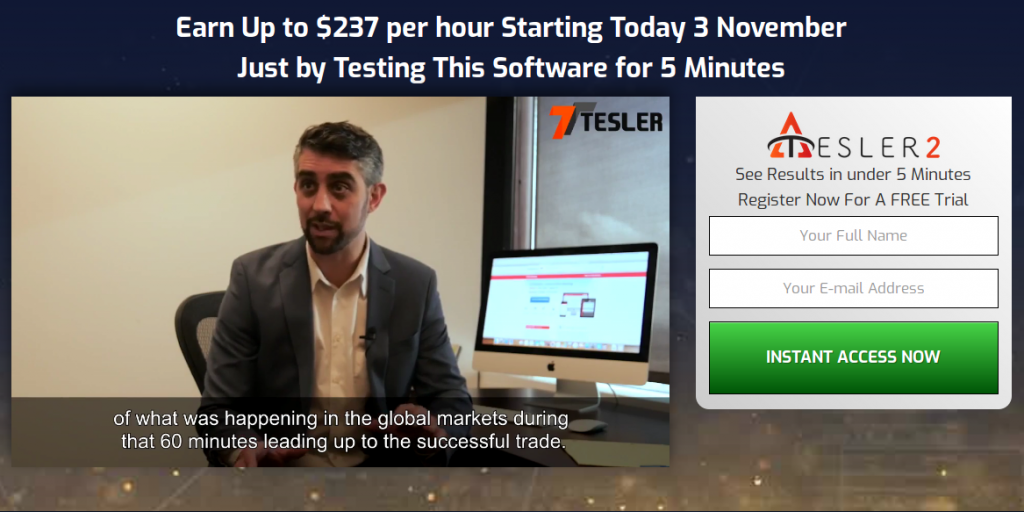 Make Money Online Tesler System Binary Website Sign up