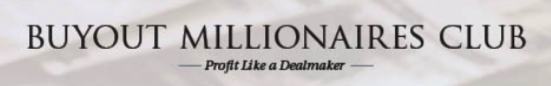 Investment Newletter Millionaire Buyout Club Banner