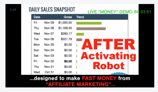 Make Money Online Auto Chat Profits Income Demo