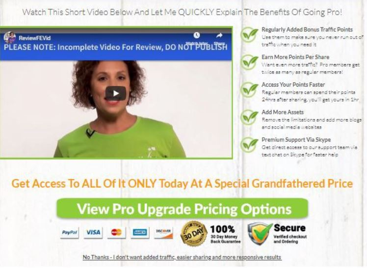 Affiliate Marketing Traffic Ivy Pro Subscription