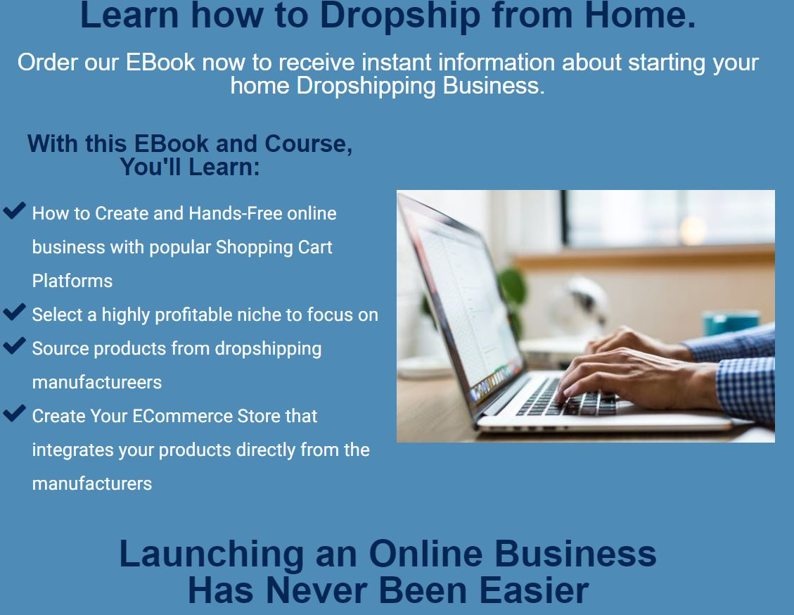 Affiliate Marketing My Home Cash Club Drop Shipping Website