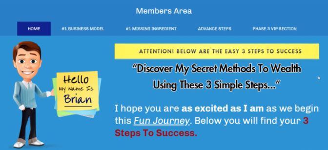 Affiliate Marketing My Home Cash Club Members Area