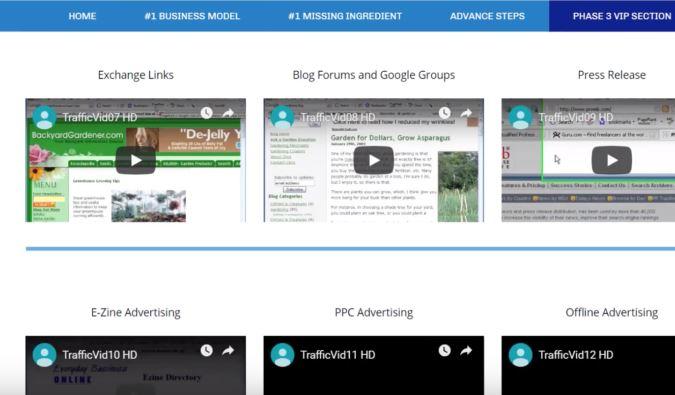 Affiliate Marketing My Home Cash Club Training Videos