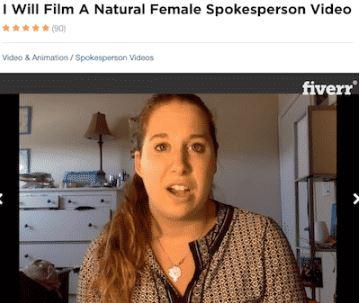 Affiliate Marketing My Home Cash Club Video Testimonial Fiverr Profile Female