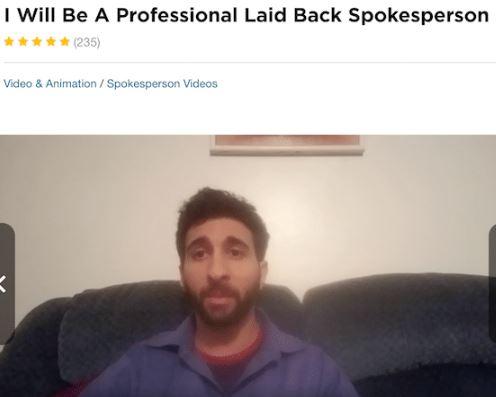 Affiliate Marketing My Home Cash Club Video Testimonial Fiverr Profile Male