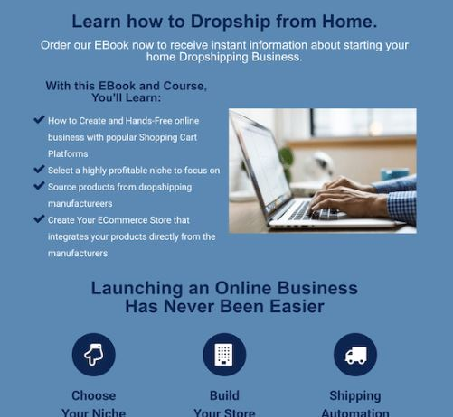 Affiliate Marketing Your New at Home Career Drop Shipping Website