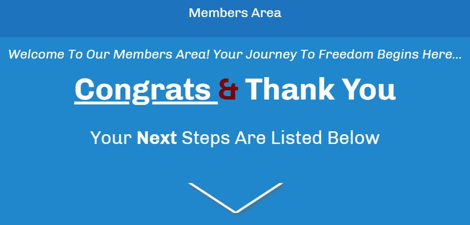 Affiliate Marketing Your New at Home Career Members Area Banner
