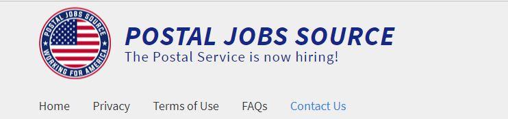 Affiliate Marketing Postal Jobs Source Website Banner