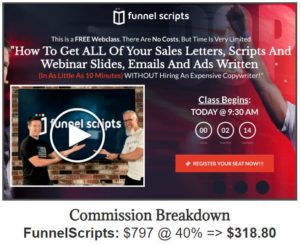 Affiliate Marketing ClickFunnels Funnelytics Sales Funnel Commission Breakdown