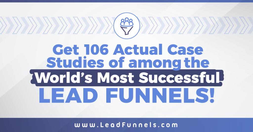 Affiliate Marketing ClickFunnels Lead Funnels 106 Case Studies