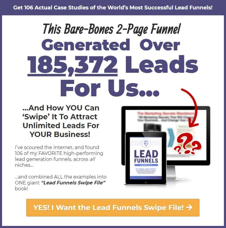 Affiliate Marketing ClickFunnels Lead Funnels Lead Generation