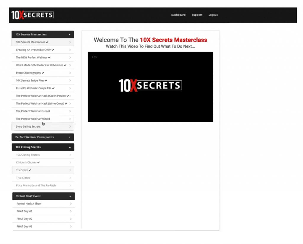 ClickFunnels Platinum Review 10x Secrets Masterclass