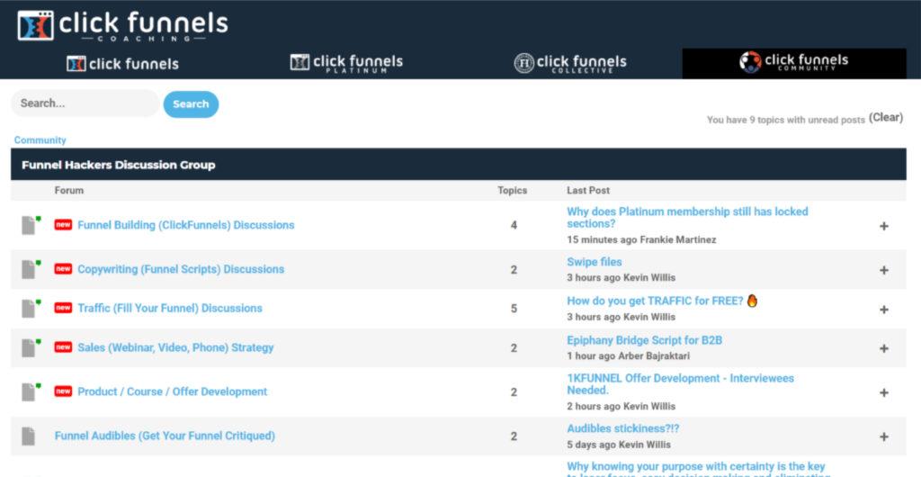 ClickFunnels Platinum Review The Funnel Hacker Forum