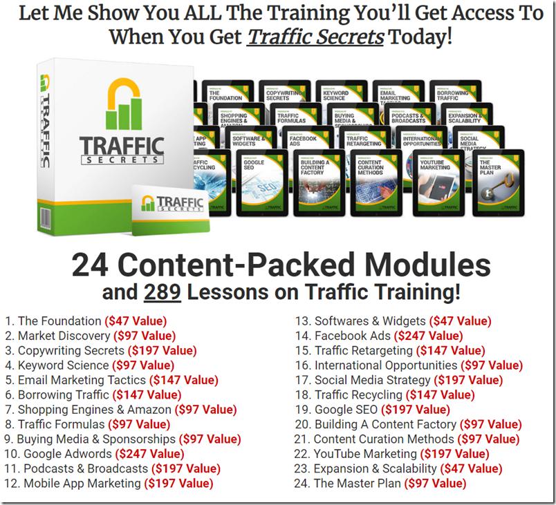ClickFunnels Platinum Review Traffic Secrets Course