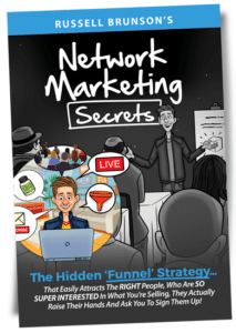 Russell Brunsons Network Marketing Secrets Review Book Cover