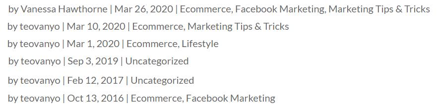 Affiliate Marketing Ecom Cash Code Teo Vanyo Blogs