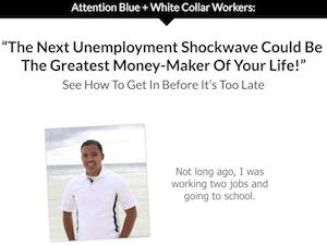 Affiliate Marketing My Job Killer Landing Page