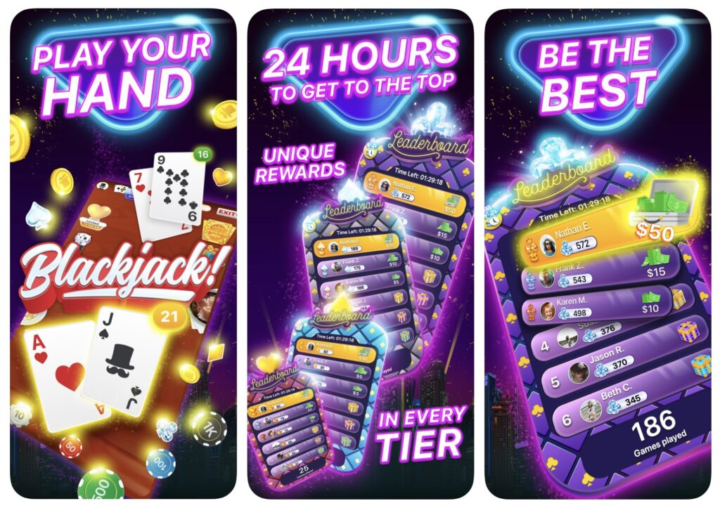 Make Money Online Lucky Day App iOS Lucky Day BlackJack Royale