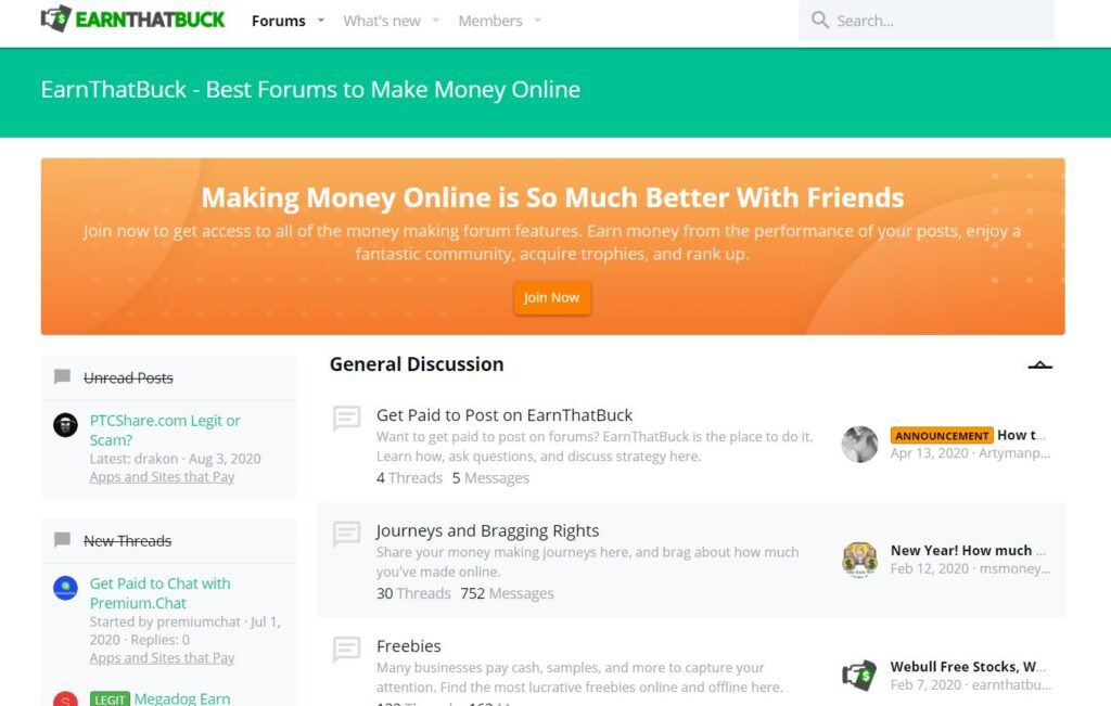 Affiliate Marketing EarnThatBack Website Landing Page