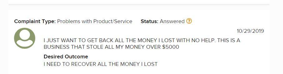 Affiliate Marketing My eCom Club Complaint #1