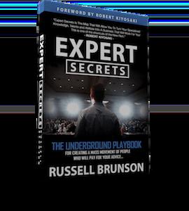 ClickFunnels Expert Secrets Book Cover