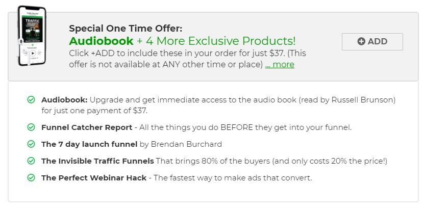 ClickFunnels Traffic Secrets Order Bump #1 Audio BookClickFunnels Traffic Secrets Order Bump #1 Audio Book